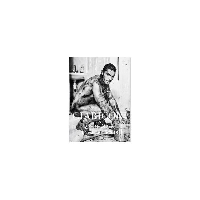 Rencontre avec Baptiste Giabiconi 15 novembre à 18h. Calendrier 2018 Giabiconi par Ellen Von Unwerth