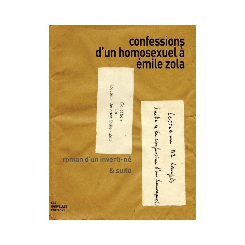 Rencontre 7 décembre 19h Confessions d'un homosexuel à Emile Zola. Roman d'un inverti-né & suite