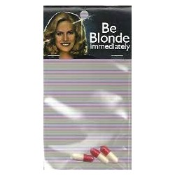 Be Blonde immediately