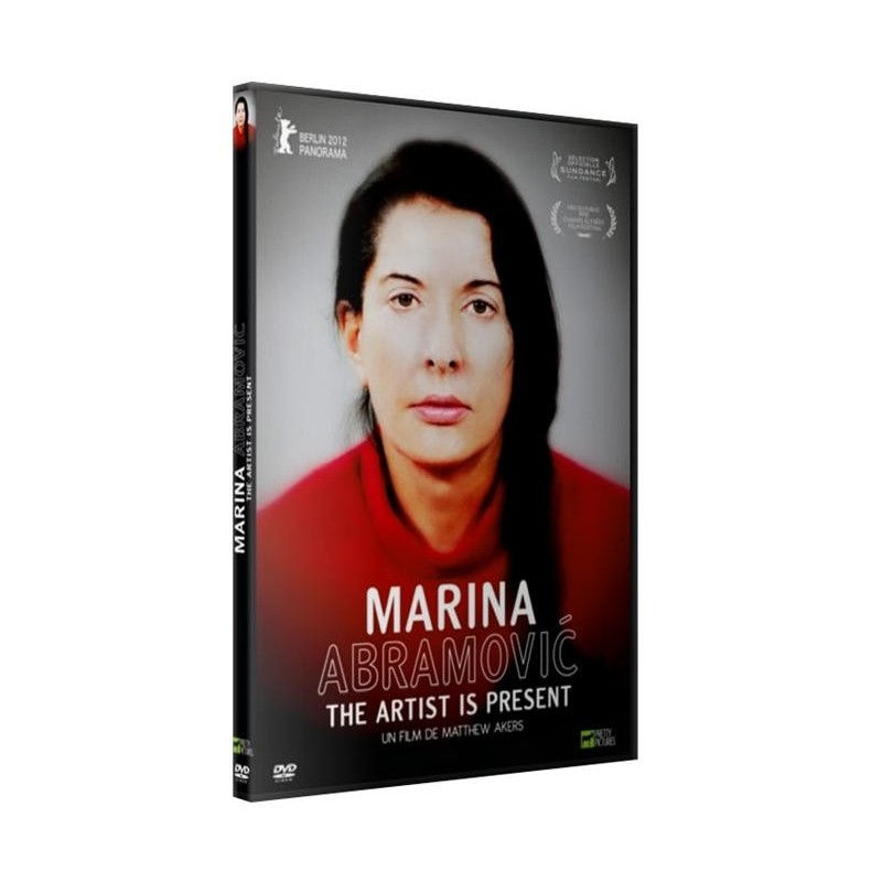 Marina Abramovic. The artist is present