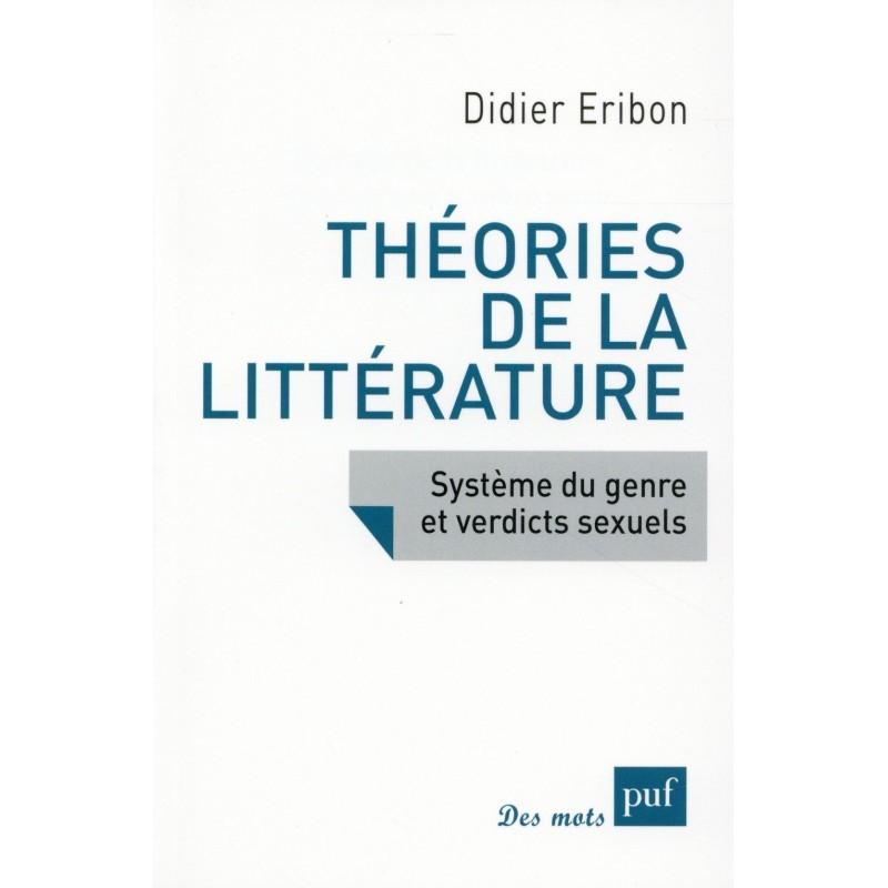 Théories de la littérature. Système du genre et verdicts sexuels