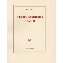 Oeuvres posthumes Tome 2