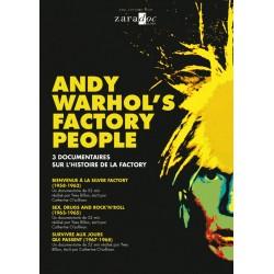 Andy Warhol's Factory People. 3 Documentaires sur l'histoire de la Factory