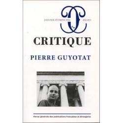 Revue critique T.824 , 825 : Pierre Guyotat