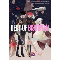 Best of Bishonen. Most Updated Boys Illustrations from Japanese Comics and Games (En anglais et Japonais)