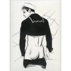Seduction. Erotic illustrations