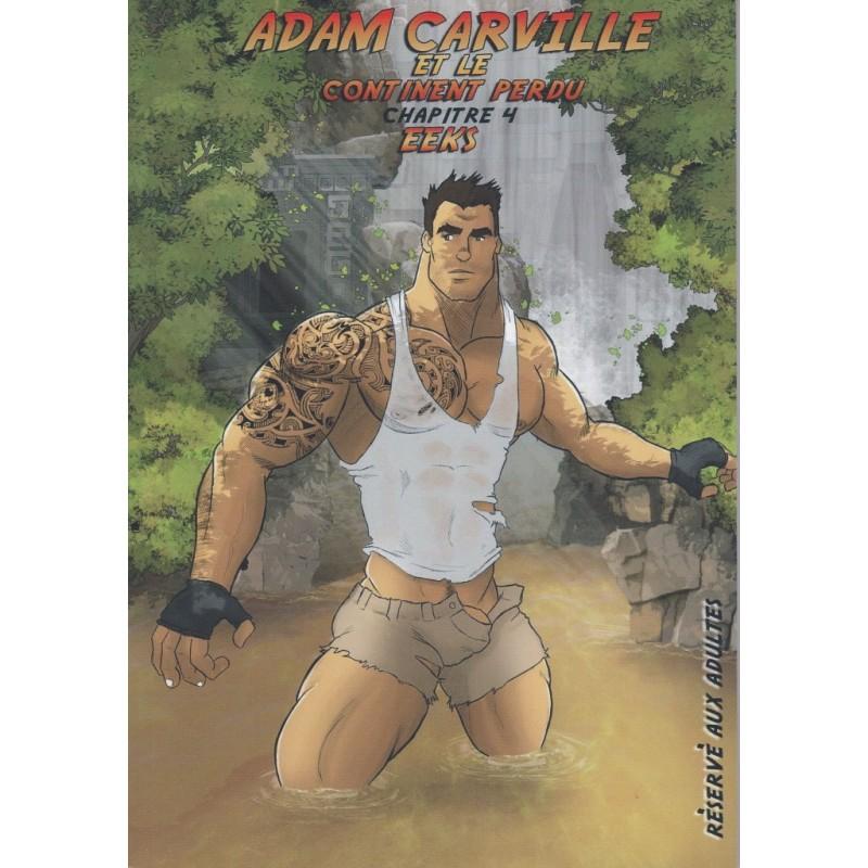 Adam Carville et le continent perdu. Chapitre 4