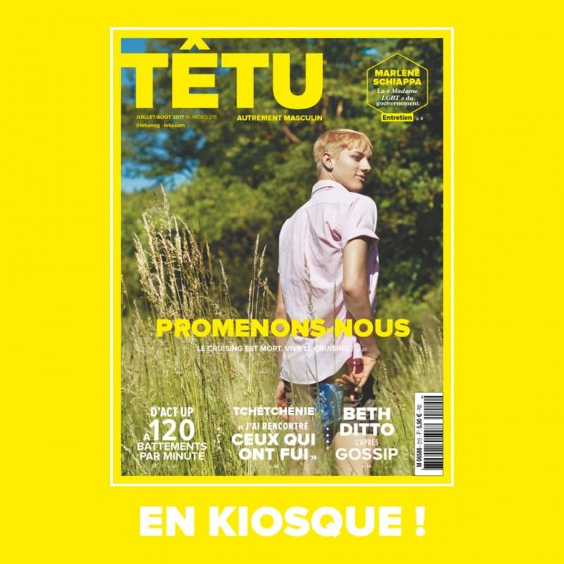 Têtu n°215 (Juillet-Août 2017)