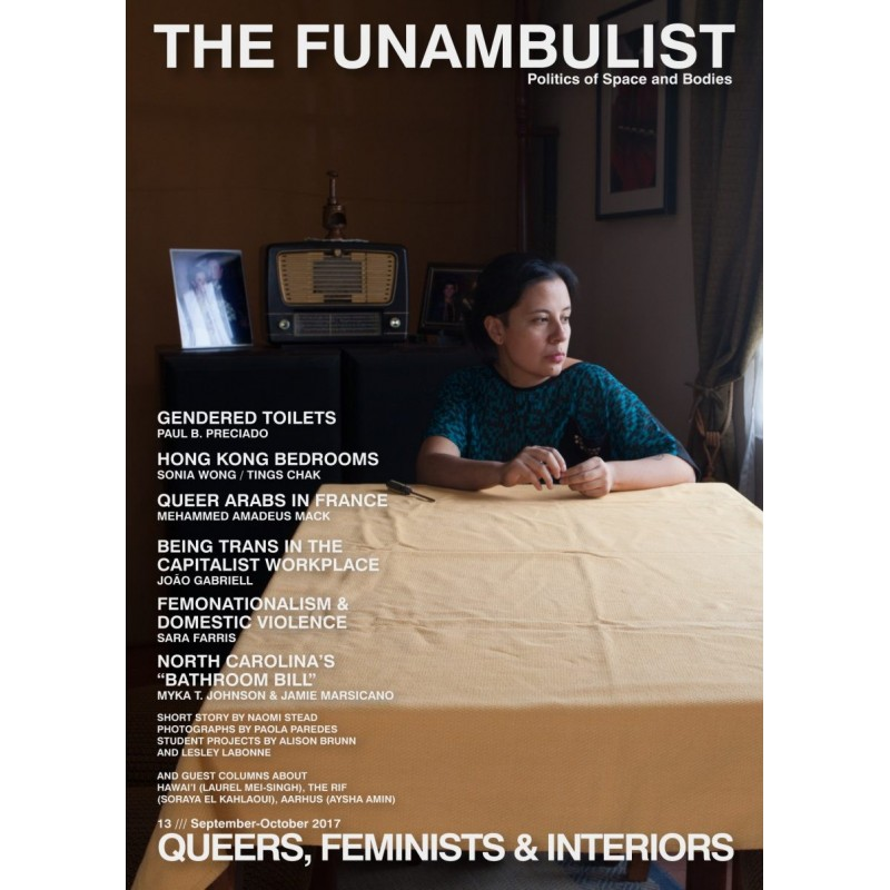 RENCONTRE 25 OCT 19H The Funambulist n°13 (sep-oct 2017) : Queers, Feminists & Interior