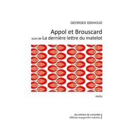 Appol et Brouscard. La dernière lettre du matelot