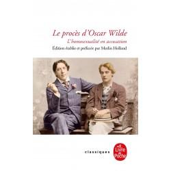 Le procès d'Oscar Wilde....