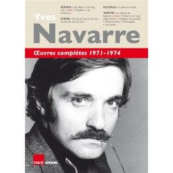 Yves Navarre. Oeuvres...