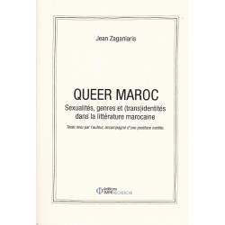 Queer Maroc. Sexualités,...