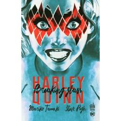 Harley Quinn. Breaking glass
