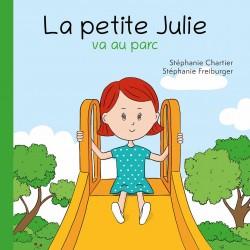 La petite julie va au parc