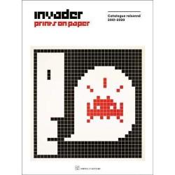 Invader prints on paper...