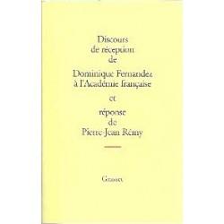 Discours de réception de Dominique Fernandez à l'Académie française