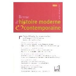 Revue d'Histoire Moderne & Contemporaine - Ecrire l'histoire des homosexualités en Europe: XIXe-XXe siècles