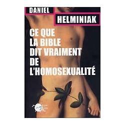 Ce que la Bible dit vraiment de l'homosexualité