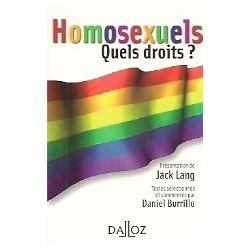 Homosexuels - Quels droits?