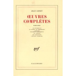 Oeuvres complètes Tome 5