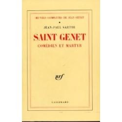 Saint Genet comédien et martyr (Oeuvres complètes de Jean Genet, I)