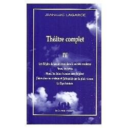 Théâtre complet - Tome IV