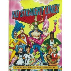 No straight lines, Four decades of queer comics (En anglais)