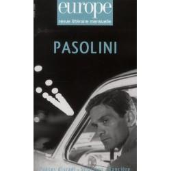Revue Europe n°947 : Pasolini