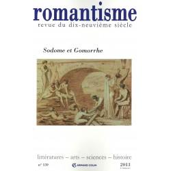 Romantisme T.159. Dossier Sodome et Gomorrhe