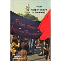Rapport contre la normalité. FHAR. 1971